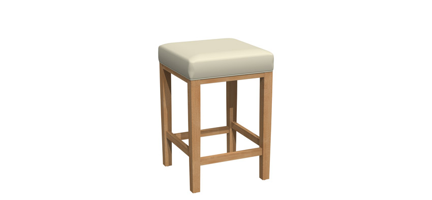 Fixed stool - BE018B-1201