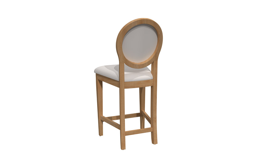 Fixed stool - BSFB-1379