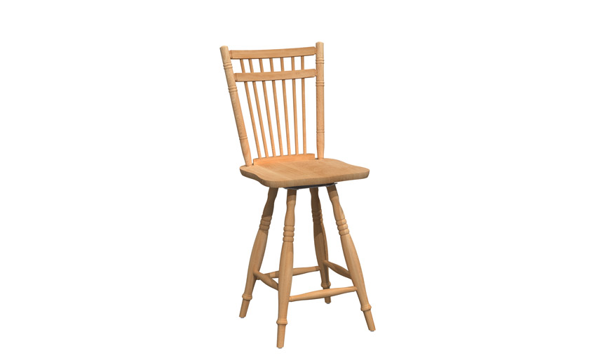 Swivel stool - BSRB-0378