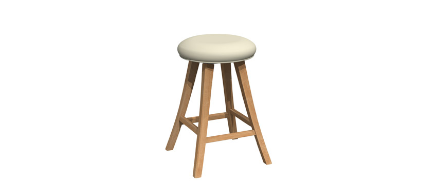 Swivel stool - BS-1200