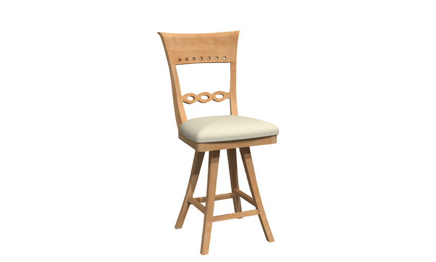 Swivel stool - BSRB-1269