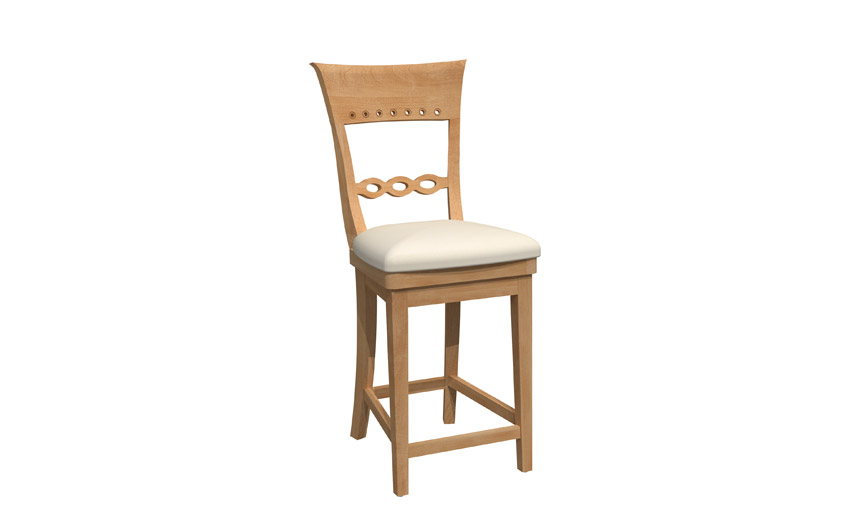 Swivel stool - BSSB-1269