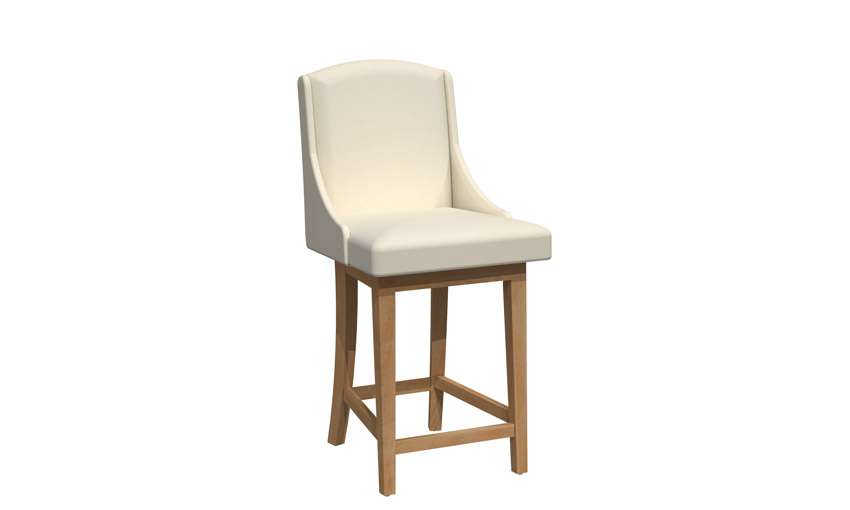 Swivel stool - BSSB-1596