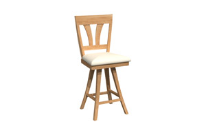 Swivel stool BSRB-1225
